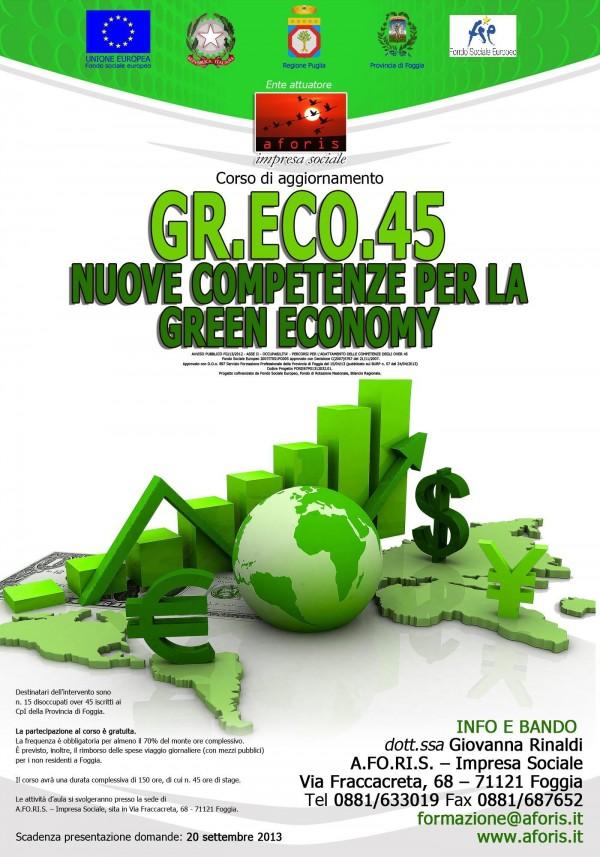 Nuove competenze per la Green Economy GR.ECO.45