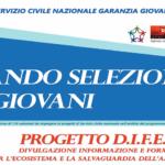 SERVIZIO CIVILE NAZIONALE GARANZIA GIOVANI – SELEZIONE VOLONTARI